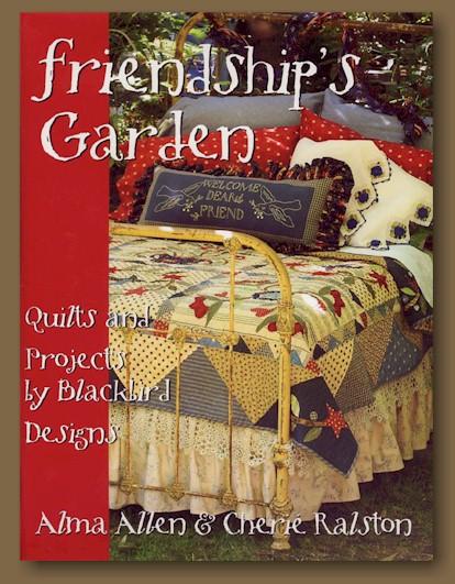 Blackbird designs books friendship 39 s garden for Garden club book by blackbird designs